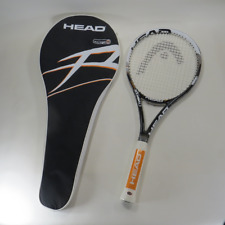 """Head Challenge Spirit Tennis Racquet Microgel S3 L3 4-3/8"""" Grip with Cover"""