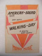 Partitura American Sound Tirón de la Sam Suffy Walking day J Smith