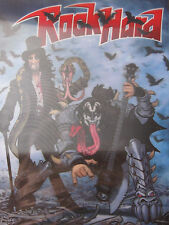 Rock Hard Alice Cooper Kiss Rock Hard 3D Picture plus Rock CD mit 15 Titel new