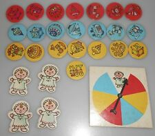 1970 Vintage Selchow & Righter Babes in Toyland Replacement pieces
