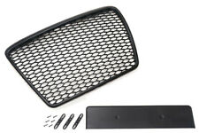 For Audi A6 4F Facelift Badgeless Mesh Grill Debadged Sport Front Grill RS