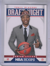 2012-13 Hoops Draft Night #6 Damian Lillard - NM-MT