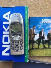 Nokia 6310i - Silver (Unlocked) Used For ONLY 38Hours. Genuine. MADE In GERMANY.