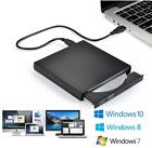 External CD Drive USB DVD RW Disc Reader Burner Laptop PC Windows 8 10 Mac