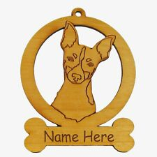 Toy Fox Terrier Ornament 084183 Personalized With Your Dog's Name