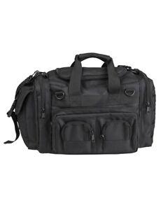 Mil-Tec Einsatztasche K-10 schwarz Polizei Security Bag Sport Transport 18 Liter