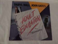 "Hall & Oates ""Adult Education"" PICTURE SLEEVE! MINT! ONLY NEW COPY ON eBAY!"