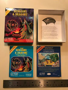 TSR Dungeons and Dragons Miniature Blue Expert Boxed Set