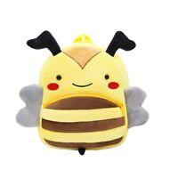 Cute Kids Toddler Backpack Plush Cartoon Animal Mini School Bag for Kids 4 Type