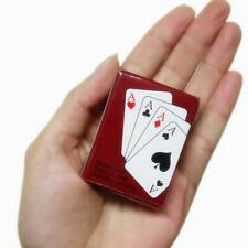 Mini Poker Cards Playing Game Child Kid Gift Outdoor Access Travel Climbing H9A3
