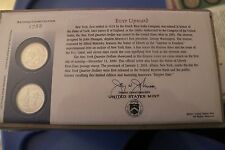 US MINT OFFICIAL 2001 NEW YORK FIRST DAY COVER NEW IN PACKAGE