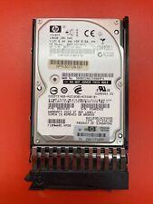 "HP 146G 10K SAS 2.5"" DG0146FAVRU 518194-001 507125-B21 507283-001 in Tray"