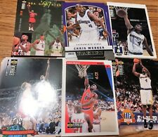 CHRIS WEBBER RESALE LOT (100 TOTAL CARDS)(7 DIFFERENT) 12-13 PANINI 98-99 TOPPS