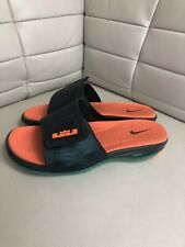 4dc5f4ae820 Nike Lebron Elite Max Sandals Slide Green Size 13