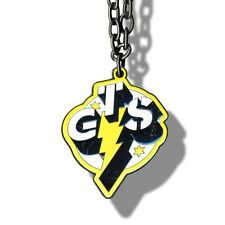WWE CM Punk Go To Sleep Pendant Necklace, ROH UFC MMA ECW Wrestling GTS Yellow