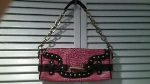 """Rafe New York"" Pink LeatherHandbag/Purse Satchel Excellent Condition"