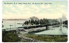 East Providence RI-BOYDEN HEIGHTS PARK RAILROAD STATION & SQUANTUM CLUB-Postcard