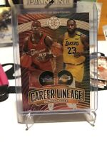 Gold #93/125 Lebron James 2019-20 Illusions Career Lineage SSP #93/125!
