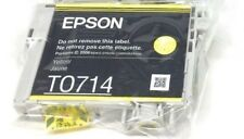 Epson T0714 TO714 Yellow Cartridge Vacuum Sealed Ink
