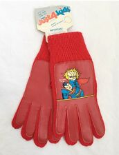 vintage kids superman winter gloves OSFA NWT