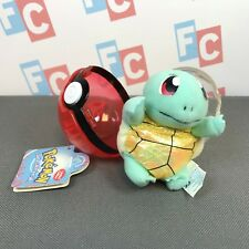 Pokemon Nintendo Applause Playables Plush Squirtle Doll Figure & Pokeball Ball