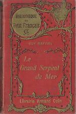 EO 1928 ANTICIPATION + GUY MAYVIEL + Y. BEGHIN : LE GRAND SERPENT DE MER