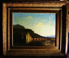 Antique Dutch Oil Painting Listed artist ALEXANDER SOLOMON VAN PRAAG  dated 1877