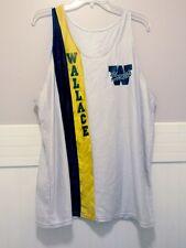 Vtg Lew Wallace High School Lady Hornets Jersey XL Women Gold Black White Girls