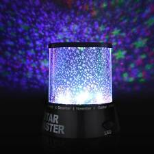 LED Sternenhimmel Projektor Lampe Nachtlicht Kinder Dekor Geschenk Nachtleuchte