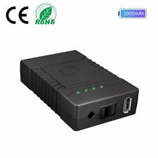 HitLights 12V DC / 5V DC (USB) Rechargeable 7000/2800mAh Battery Pack Power Bank