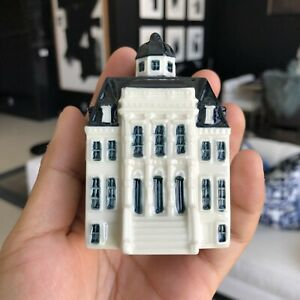 100th Blue Delft Mini House Royal Palace BOLS Amsterdam 1575 KLM 2019 SEALED NR