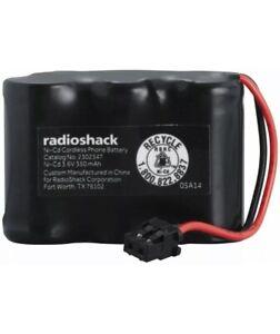 RadioShack 2302347 350Ah 3.6V Ni-Cd Cordless Phone Battery for Sony Uniden AT&T