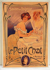 CPM REPRODUCTION AFFICHE ANCIENNE / SAVON LE PETIT CHAT / MISTI