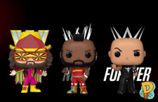 Funko Pop! Wwe: Macho Man, The Rock and Mr. T (In Stock) Figures