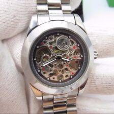 CROTON Automatic,CI331062,21 Jewel,Skeleton Dial N-Mint IN BOX MEN'S WATCH,R8-02