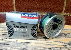 DIAWA SF708 FLY REEL IN BOX WITH MANUAL Made In Japan.