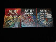 Weird Science 1 à 3  Editions Akiléos