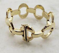 14K Yellow Gold Ladies Link Bracelet