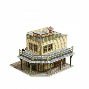 BARBERSHOP 3D Puzzles Toy Cardboard Model Kit Constructor (447)