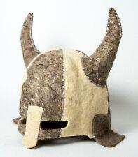 FELT HAT SAUNA Viking helmet Berserk Sea king Wool New Year Sale