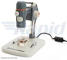 Microscopio Digital Celestron 44308-CGL De Mano Pro-Resolución de 5 megapíxeles