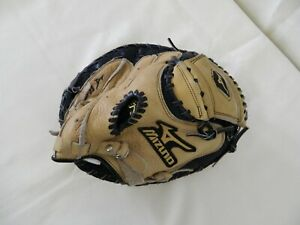 Mizuno Catchers Mitt Glove GXC 100 Leather Youth RHT Baseball Prospect Series