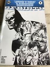 Justice League Of America Rebirth #1 Variant Sketch Comicspro / Diamond Summit