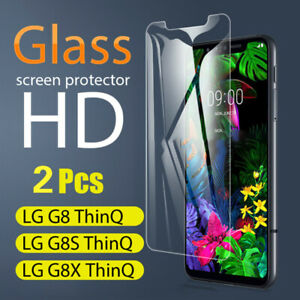2PCS For LG G8 G8S G8X ThinQ Tempered Glass Film Saver Safety Screen Protector