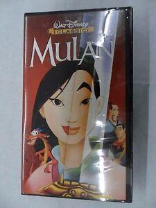 MULAN VHS videocassetta cartoni animati WALT DISNEY I CLASSICI NUOVA SIGILLATA