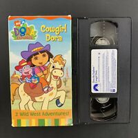 Dora the Explorer - Cowgirl Dora - 2003 Nick Jr VHS Tape - Tested Plays Great!