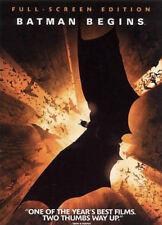 Batman Begins (Dvd, 2005, Full Frame) - Brand New