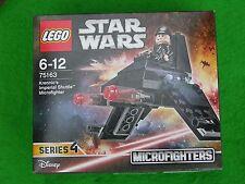 Lego Star Wars, Cofre #75163 , KRENNIC'S Imperial Nave, Nuevo en Caja