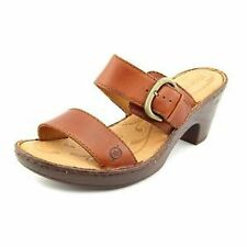 """1.5-3"""" Mid Heel Slip On and Mule Sandals for Women"""