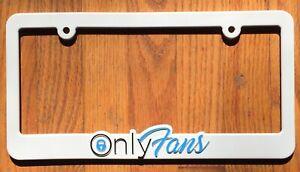 OnlyFans SOLD OUT License Plate Frame JDM Brazzers PornStar Latina MILF OF IG LA